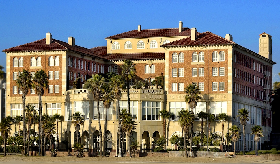 Hotel Casa Del Mar, architect Charles F. Plummer, national register of historic places, beach club