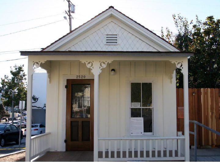 Preservation Resource Center, PRC, shotgun house, 2520 2nd st, Photo credit Barbara Nigro.