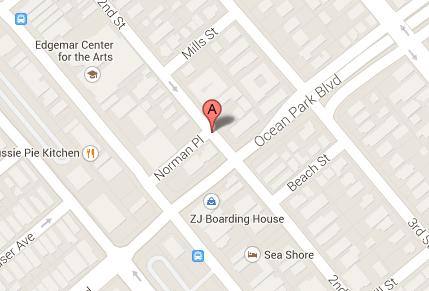 2520 2nd St, shotgun house, map