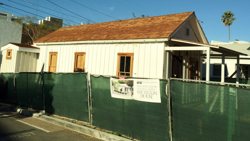 Ocean Park, Shotgun House, 2014, roof