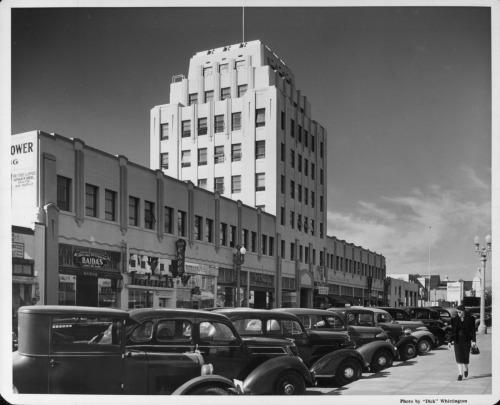 Central Tower Building, Santa Monica, 1930s. Photo credit Los Angeles Past.