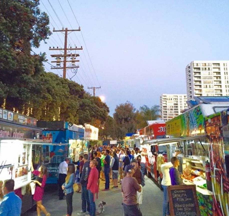 Santa Monica Food Trucks Main Street